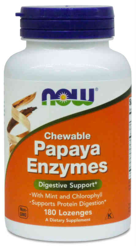 Папайя ферменты - Papaya Enzymes, Now Foods (Нау фудс) —  «МагазинВитамин»