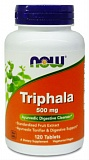 Трифала экстракт - Triphala, Now Foods (Нау фудс)